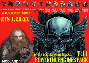 Pack Powerful engines + gearboxes V.11 for 1.28.x