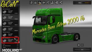 MERCEDES BENZ ACTROS 2000 HP 1.22, 1 photo