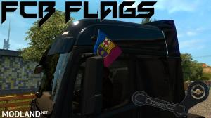 FC Barcelona Flags All Truck, 1 photo