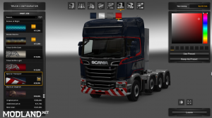 Scania engine pack , 1 photo