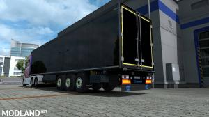 Krone Trailers Paintable Parts With Logos
