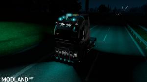 Realistic Blinker Blue Lights 1.36