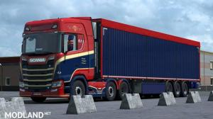 Scania RD Transport (Tunning and Skin)
