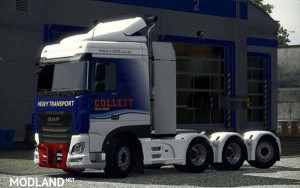 Heavy Haulage chassis addon for DAF XF Euro 6 v 1.1