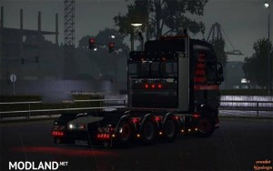 Heavy Haulage Chassis addon for DAF XF Euro 6 v 1.5