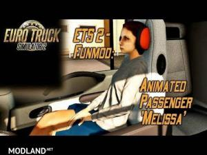 Animated passenger in truck (with you) V2.1 (1.36), 1 photo