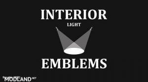 Interior Lights & Emblems v5.6 1.35.x, 1 photo