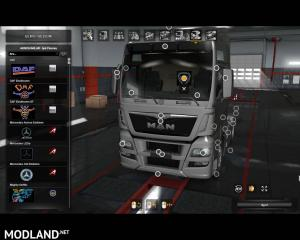 Interior Lights for all SCS Trucks (SP & MP) 1.36.x