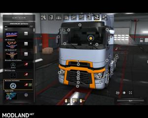 Interior Lights for all SCS Trucks (SP & MP) 1.36.x, 2 photo