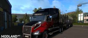 Tuning for Volvo VNL 2019 ETS2 1.35.x, 1 photo
