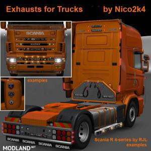 Exhausts for Trucks v 1.35 by Nico2k4, 1 photo