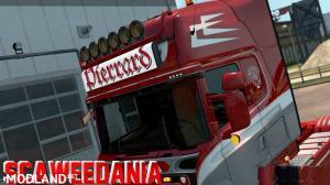 Pierrard Transport Lightbox for Scania RJL