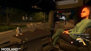Animated female passenger in truck (with you) V2.0 (1.36)