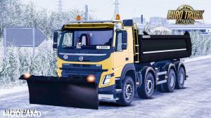 Snow Plow for Volvo FMX, 1 photo