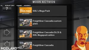 FREIGHTLINER CASCADIA ADDON ETS2 1.27.x & ATS 1.6.x, 3 photo