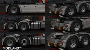 New Rear Fender Scania 2016 R and S