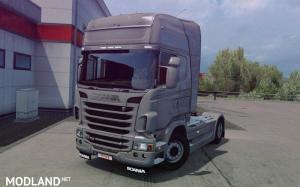 Mod produces a standard rear bumper from Scania S to Scania R, 1 photo