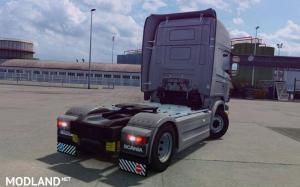Mod produces a standard rear bumper from Scania S to Scania R, 2 photo