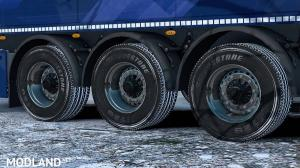 Snowy Wheel for Trucks and Trailers 1.34 - External Download image