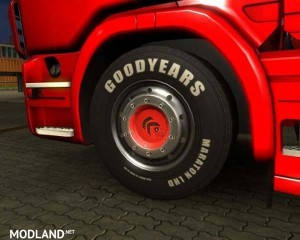 Tires Сontinental and Goodyear