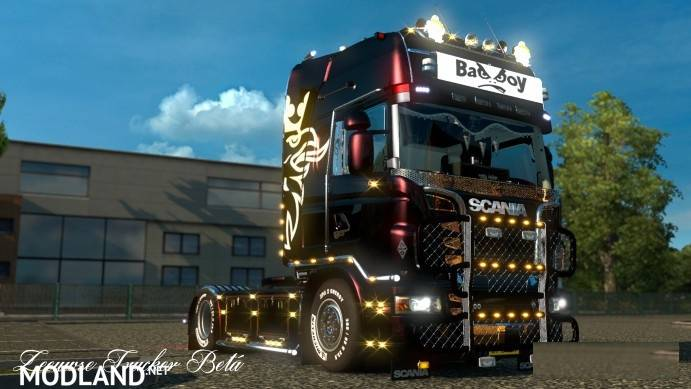 Scania R SCS Tuning Beta 2 mod for ETS 2