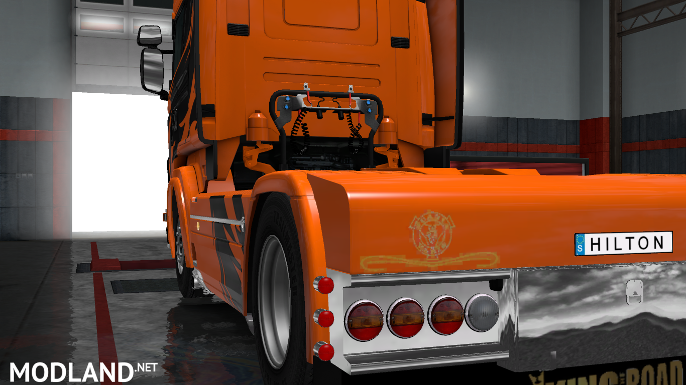 Tuning for Scania RS mod for ETS 2