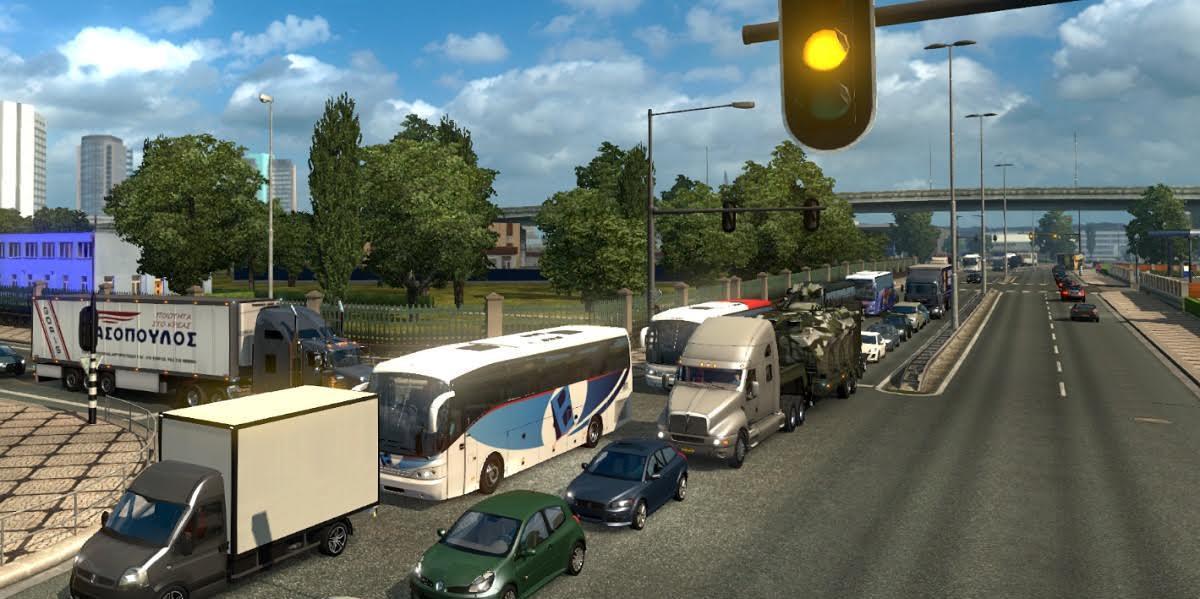 Real Traffic Density v 1 0 by Cip mod for ETS 2