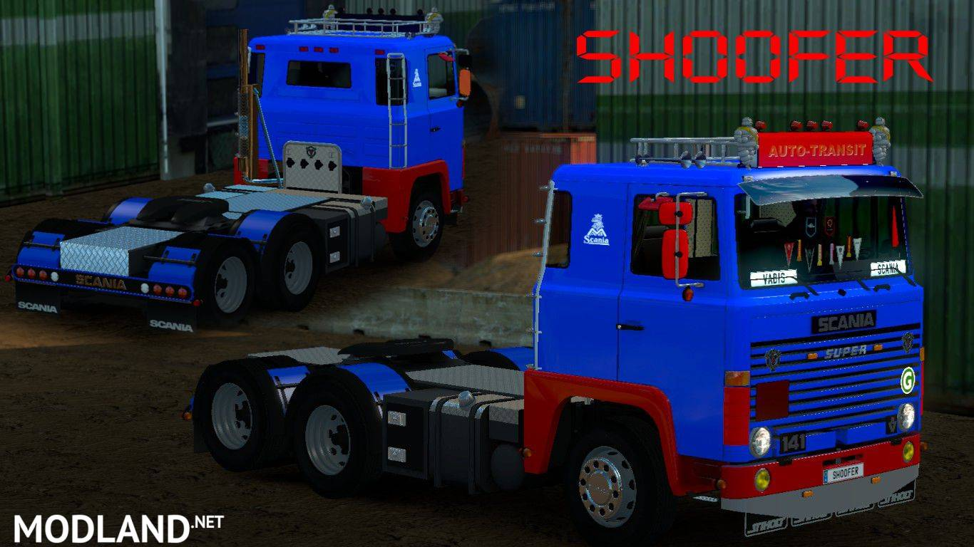 Scania 1 Series By Shoofer Mod For Ets 2