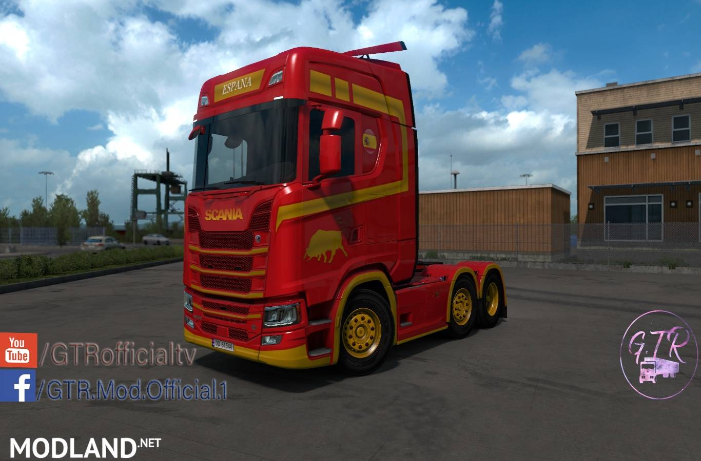 Skin Spain For Scania S Next Gen Mod For ETS 2