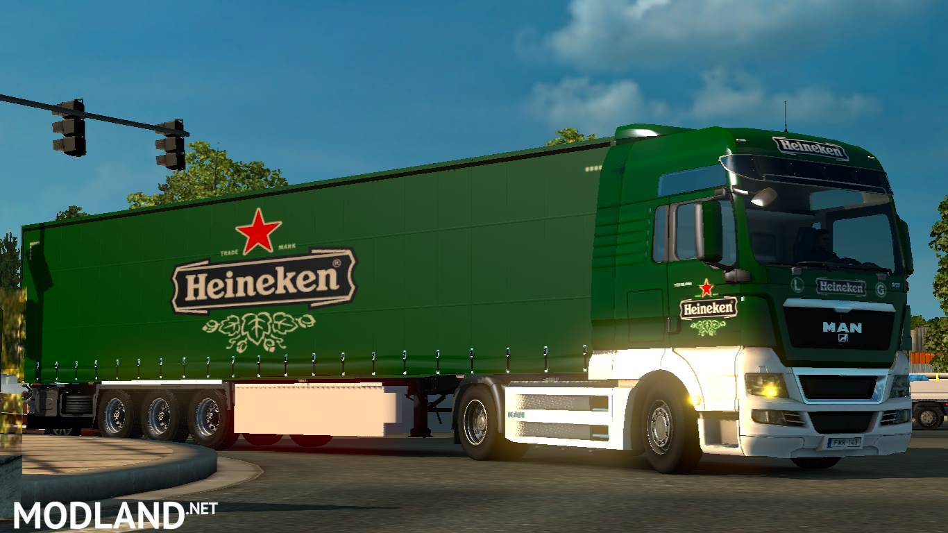 Heineken Combo Pack Mod For Ets 2