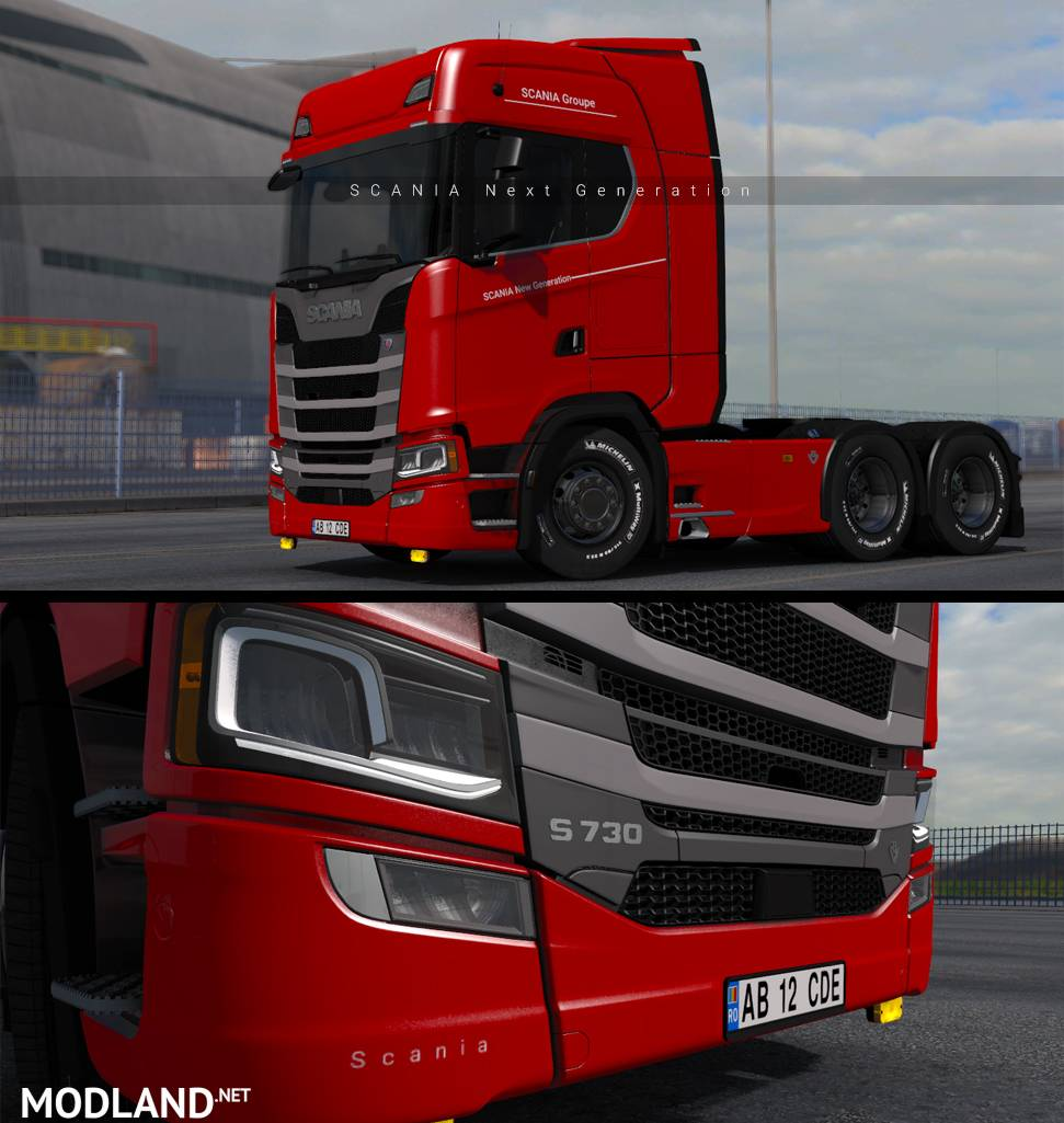 Scania New Generation Skin Mod For Ets 2