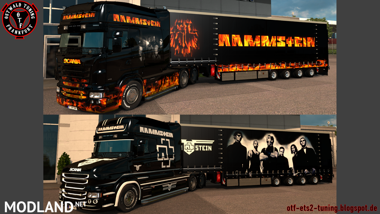 Rammstein Pack 2.0 / 1.27.x mod for ETS 2