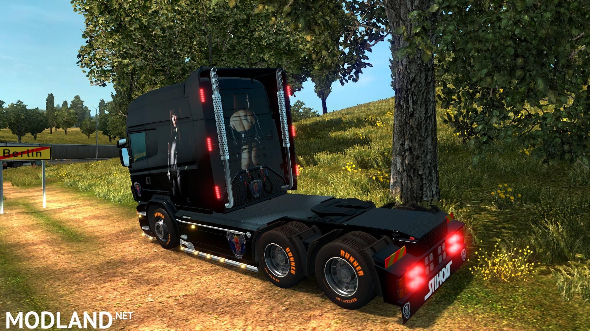 Net Direct Trucks >> Scania r & streamline longline.Skins.Asia Girl mod for ETS 2