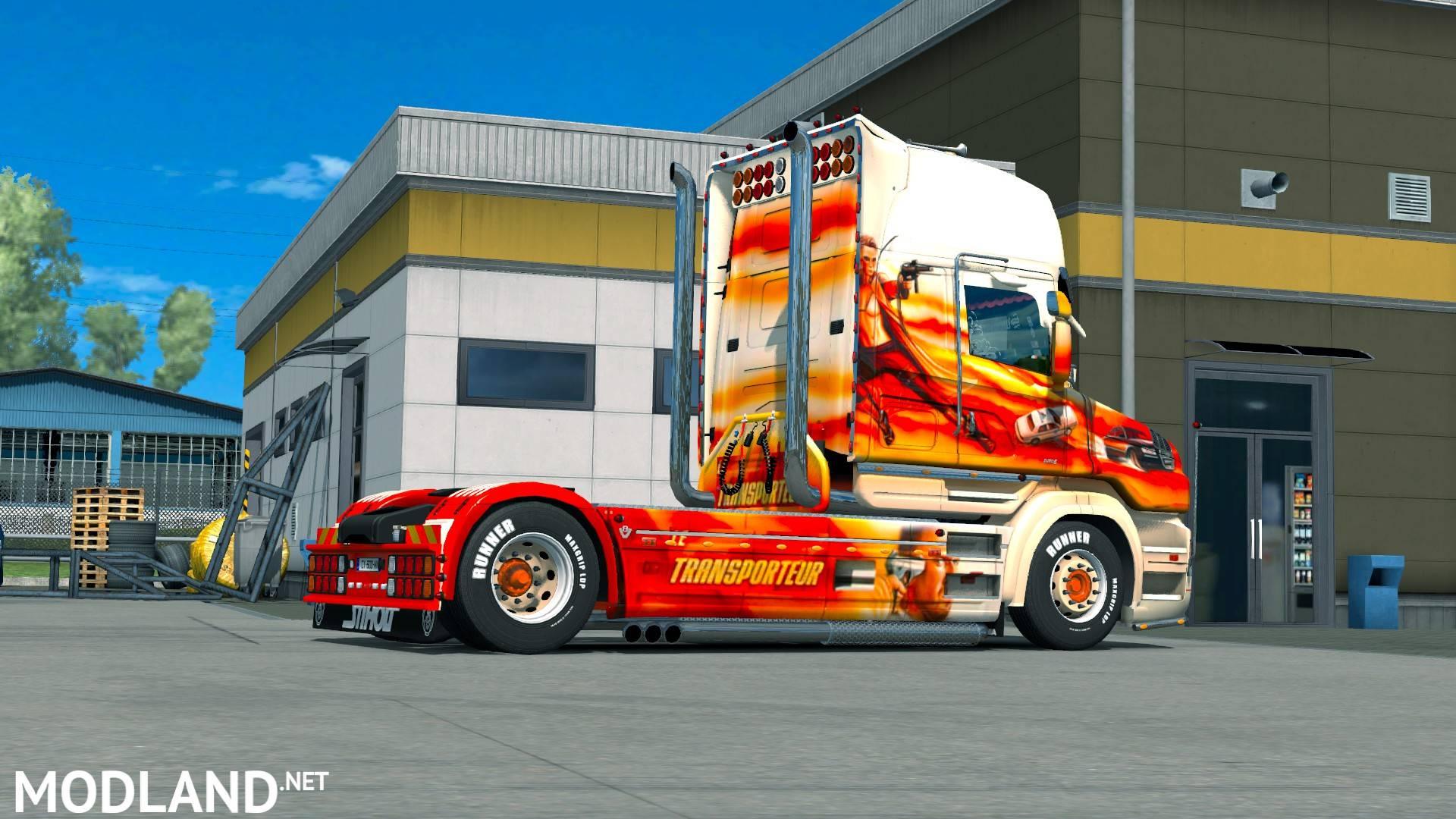 Skin Transporteur For Scania T Rjl Mod For Ets 2