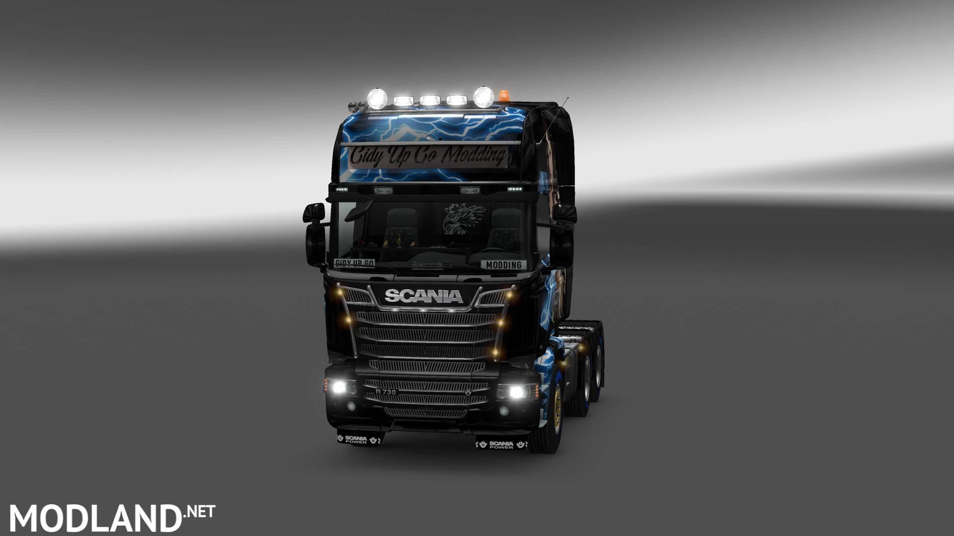 Net Direct Trucks >> scania streamline Wonder Woman truck skin mod for ETS 2