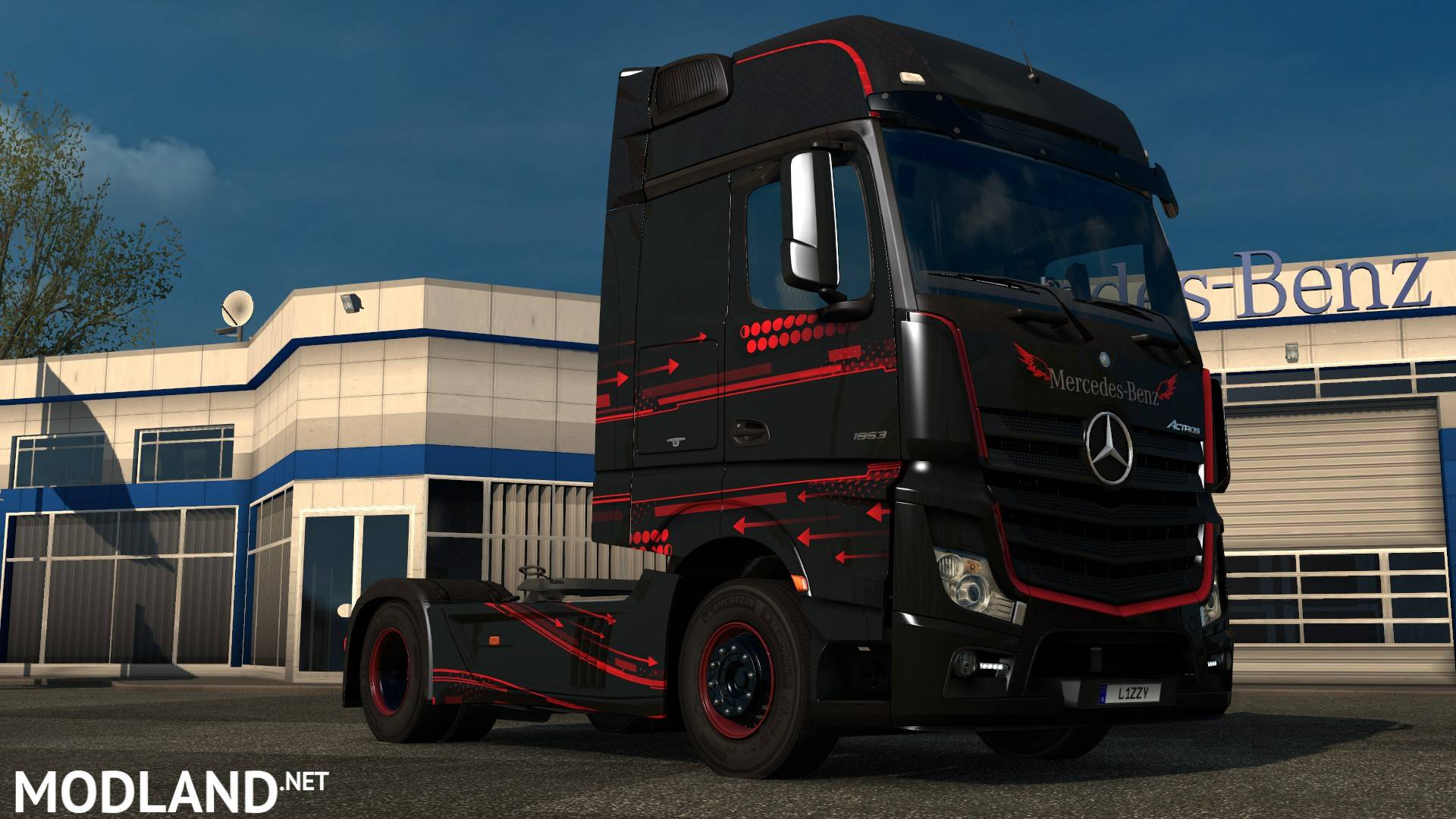 Volvo Truck Dealer >> Mercedes Benz Actros 2014 - Accessio Paintjob by l1zzy mod ...