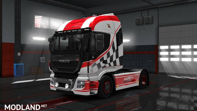 Combo Skin Iveco Abarth Mod For ETS 2