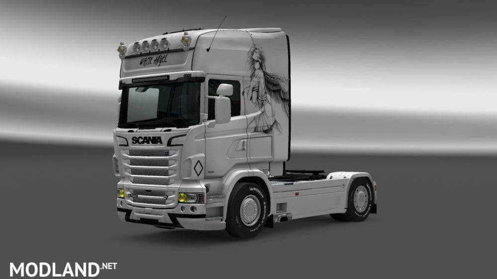 Angel Skin Scania RJL mod for ETS 2