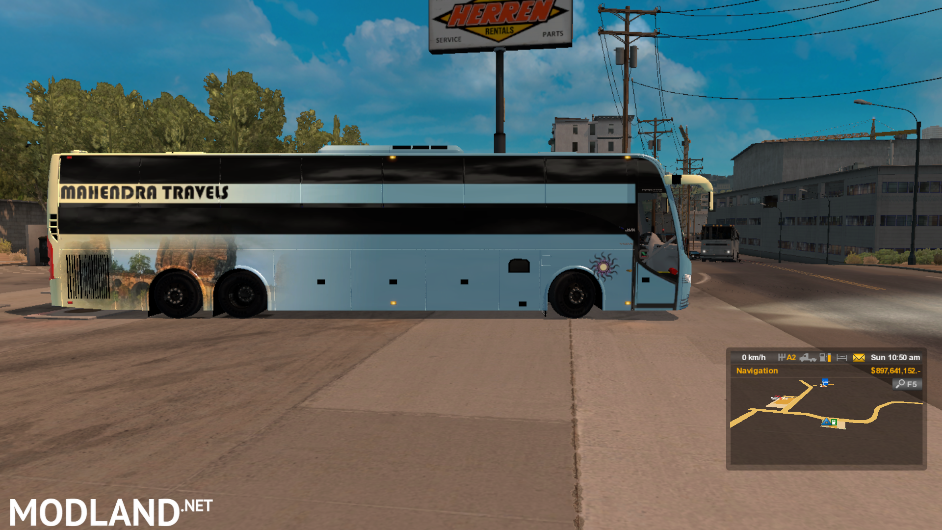 indian sleeper coach bus mod for ETS 2
