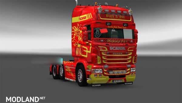 Bjork Ans Son Skin Scania Rjl Mod For Ets