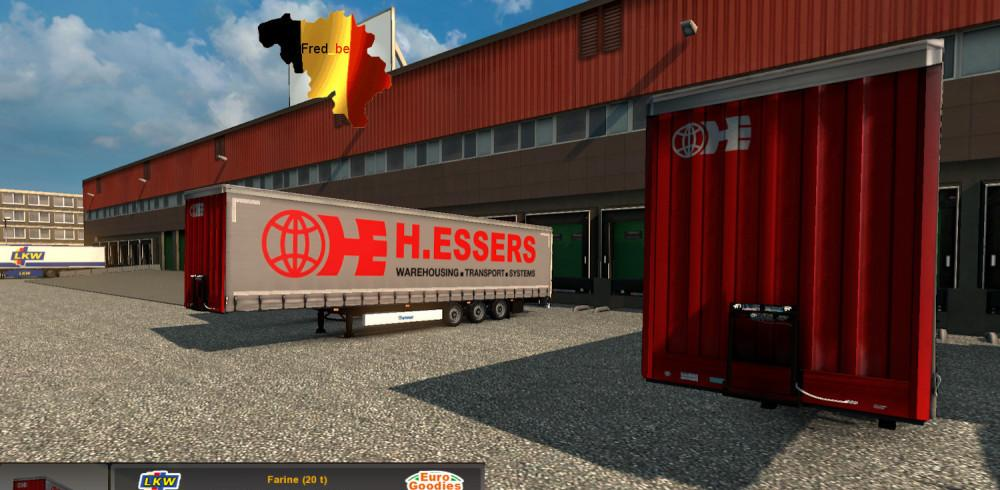 Combo Skin Pack H Essers Mod For Ets 2