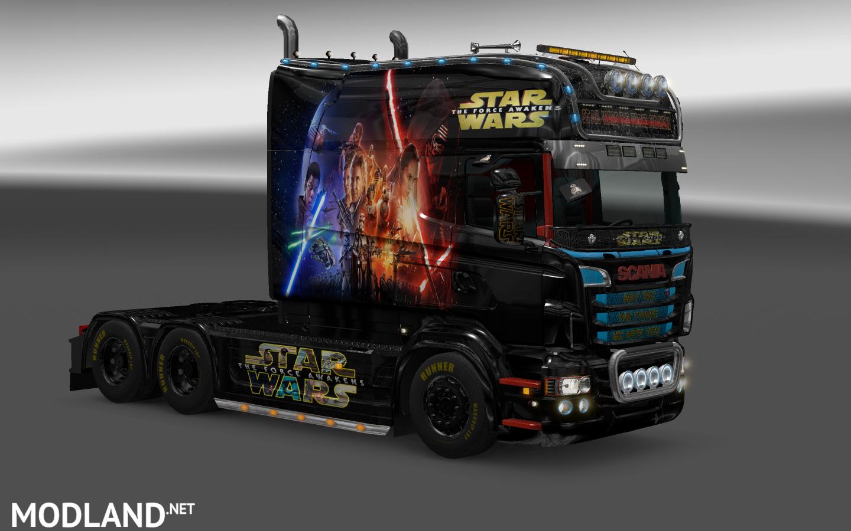 Star Wars Scania RJL 1.4 mod for ETS 2