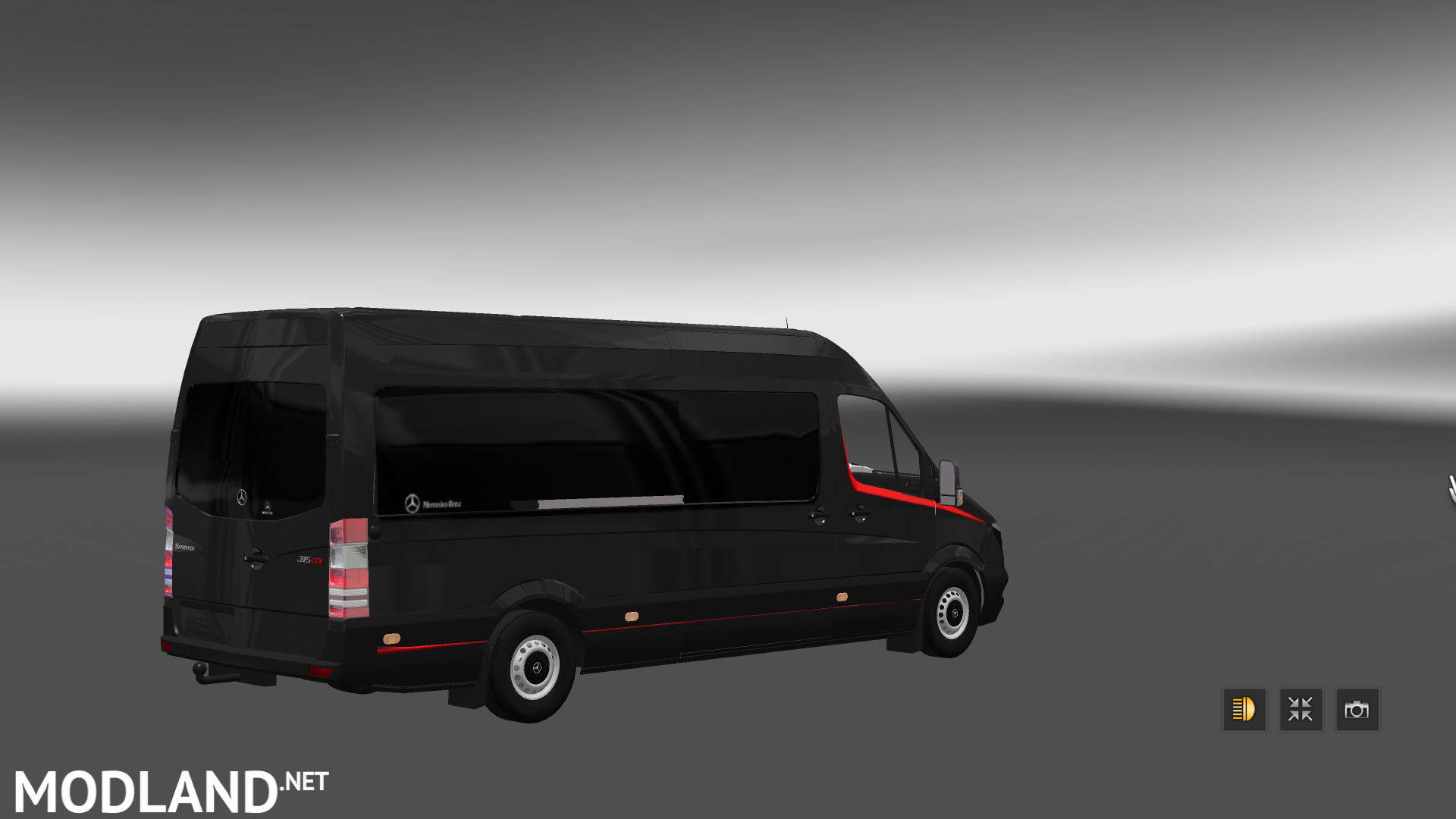 Mercedes Sprinter Long 2014 Minibus Skin Pack V 1 1 Mod