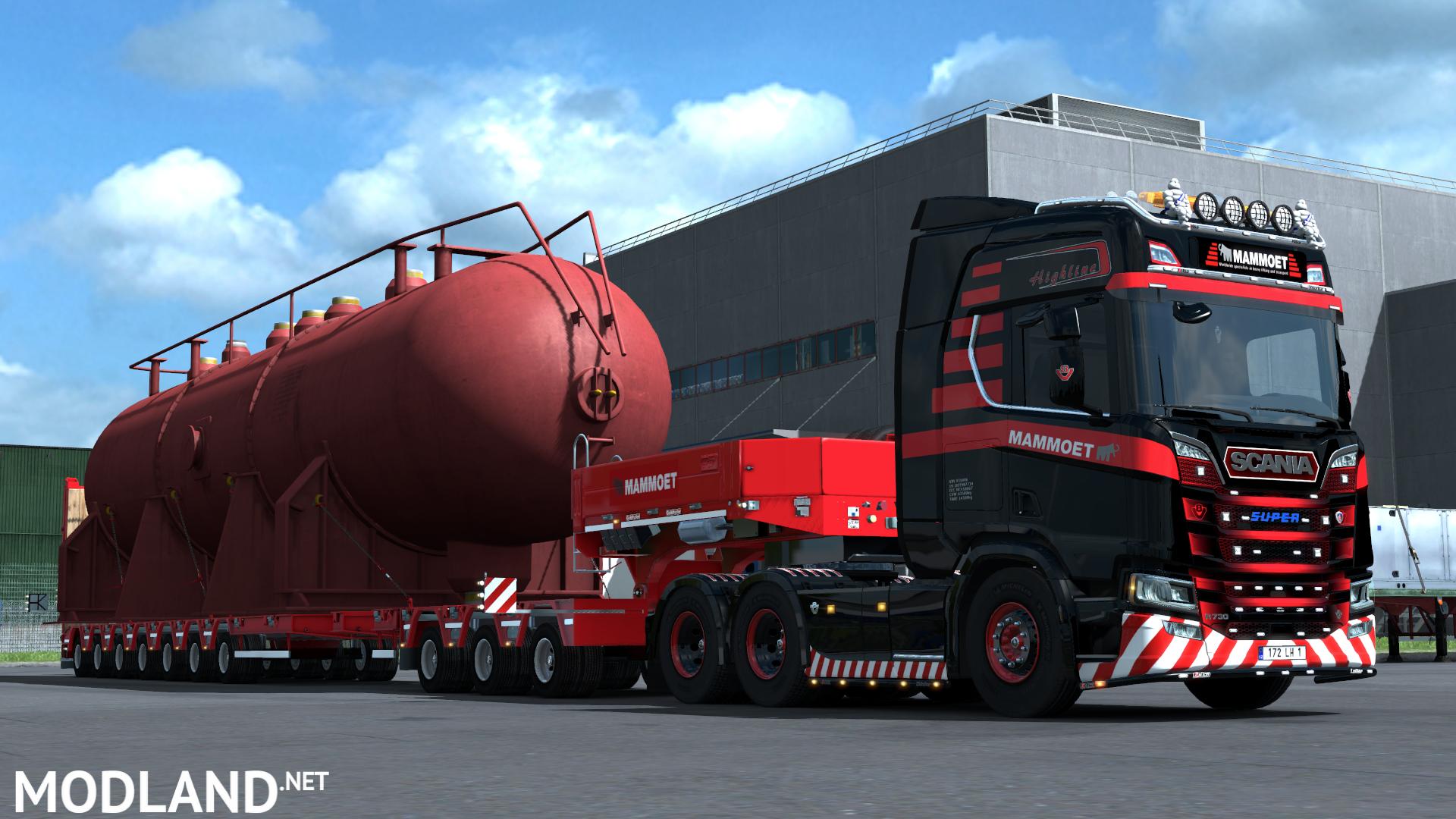 euro truck simulator 2 mods heavy transport best image. Black Bedroom Furniture Sets. Home Design Ideas