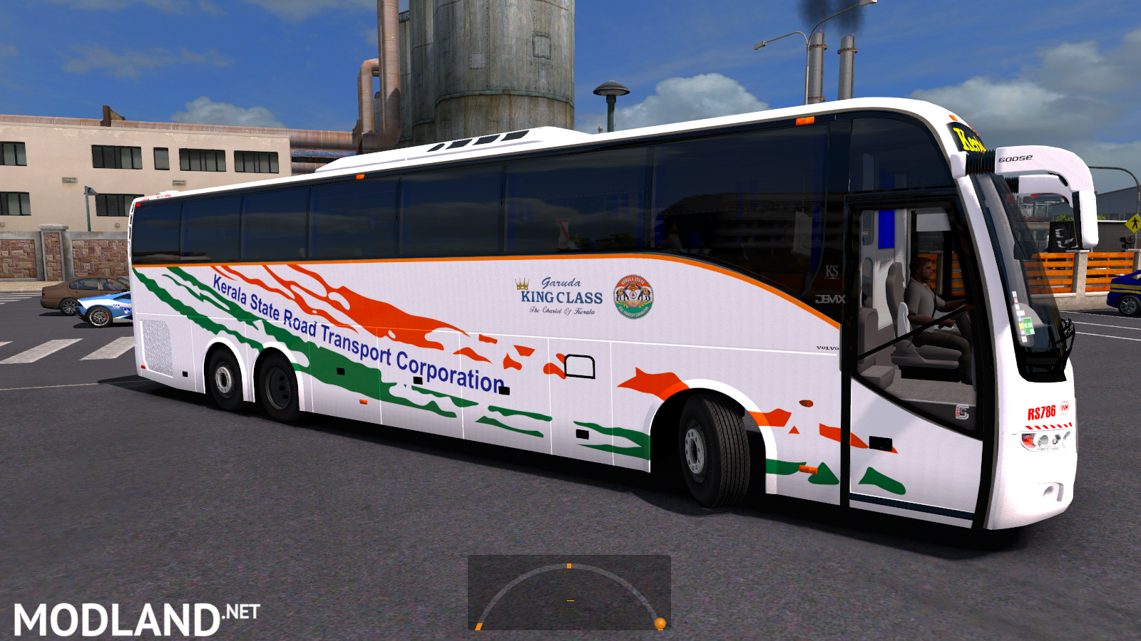 Kerala State RTC Skin For Volvo Grand And PX mod for ETS 2