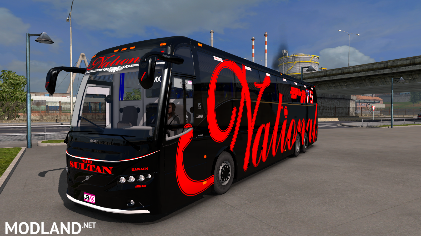 National Sultan Skin For Volvo Dbmx Px And Grand Mod For Ets 2