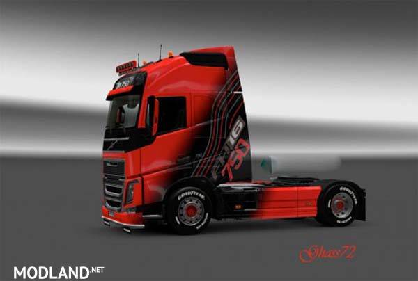 GH Volvo fh16 2012 mod for ETS 2