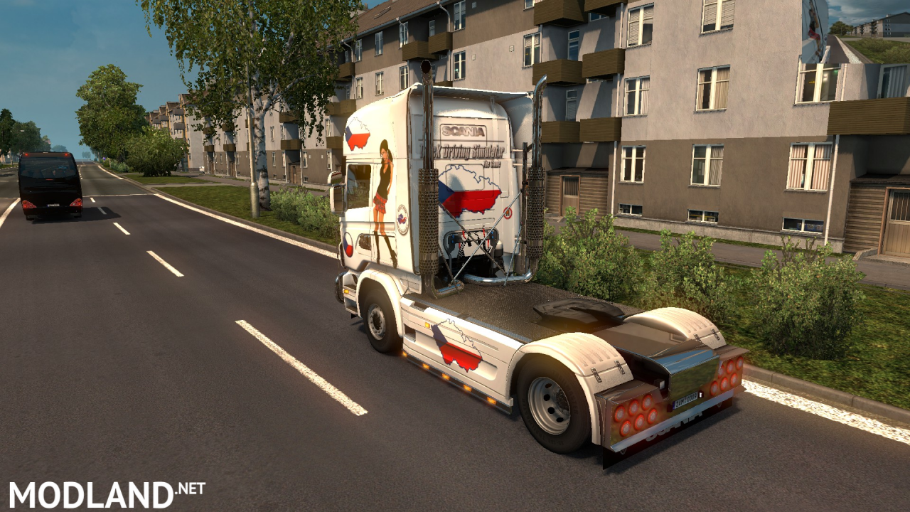 JDC SKINS SCANIA.REPUBLIC TCHEQUE