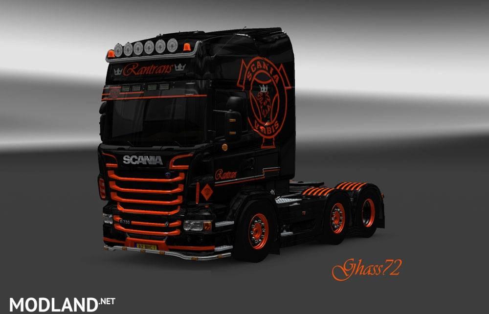 Scania R Rantrans Skin