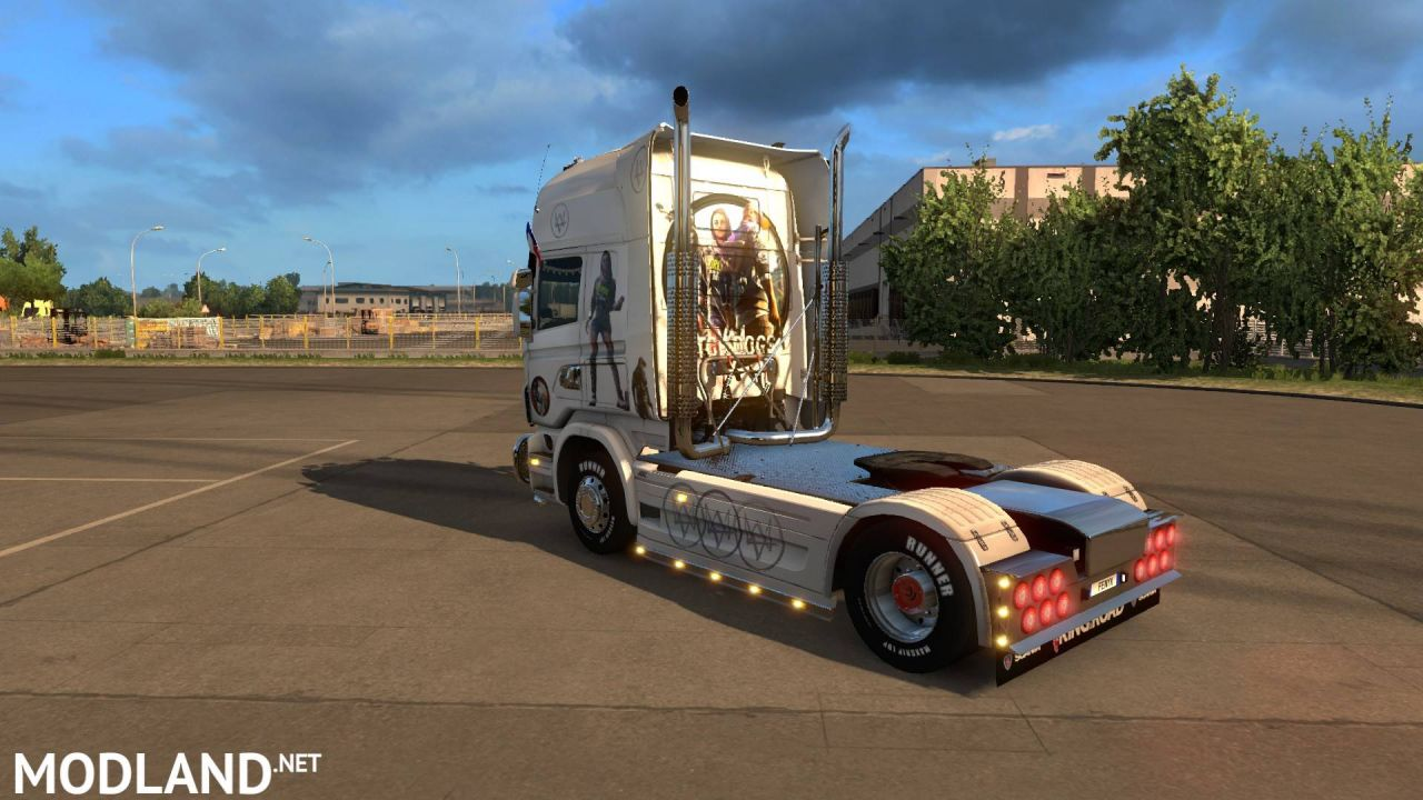 JDC SKINS SCANIA WATCH DOGS 2